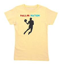 Baller Nation Girl's Tee