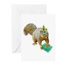 Birthday Squirrel Greeting Cards (Pk of 10)