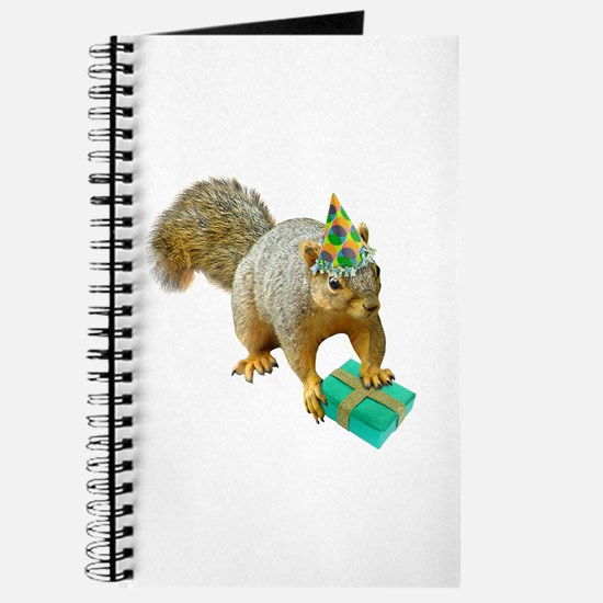 Birthday Squirrel Journal
