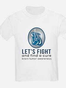 Lets Fight Brain Tumors T-Shirt