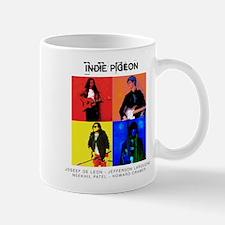 INDIE PIGEON Poster Mugs