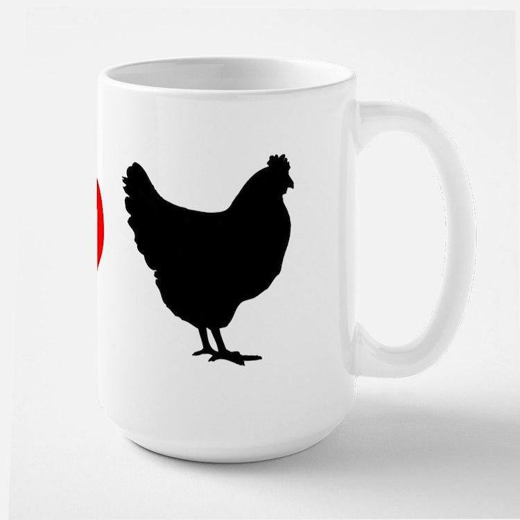 I Heart Chickens Mug