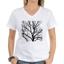 A one color tree filtered p Shirt