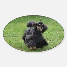 Sweet English Cocker Spaniel Sticker (Oval)
