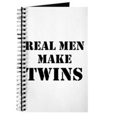 Real Men Make Twins Journal
