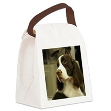 Springer Spaniel Canvas Lunch Bag