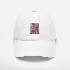 Dragonflies Pink Fizz Baseball Baseball Cap