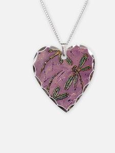 Dragonflies Pink Fizz Necklace
