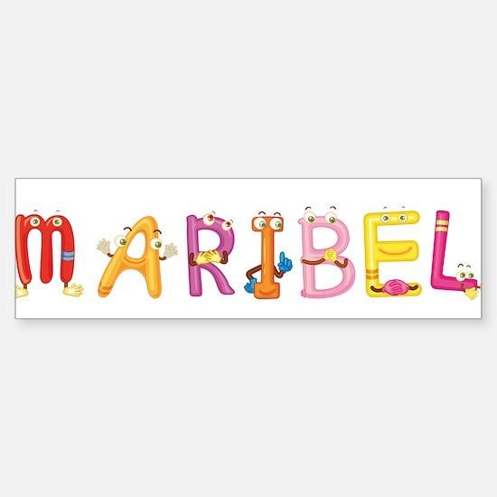 Maribel Bumper Bumper Bumper Sticker
