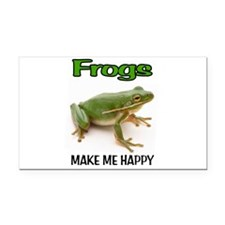 FROGS Rectangle Car Magnet