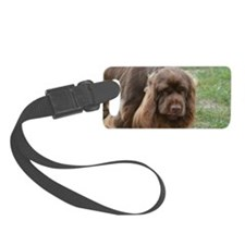 Adorable Sussex Spaniel Luggage Tag