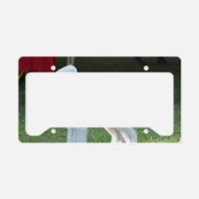 Bedlington Terrier License Plate Holder
