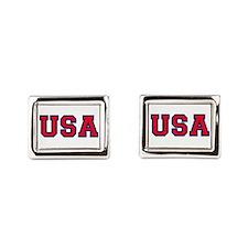 USA Logo Cufflinks