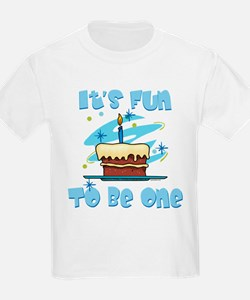 Fun To Be One Blue T-Shirt