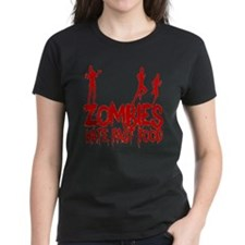 Zombies Hate Fast Food Tee