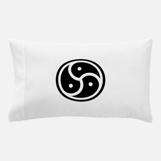 BDSM Triskelion Pillow Case