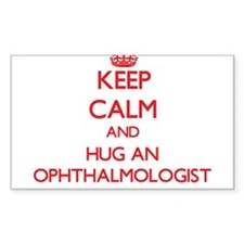 Keep Calm and Hug an Ophthalmologist Decal