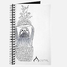 Mental Pineapple Sloth Journal