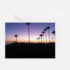 Swamis Sunset Greeting Card