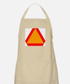 Slow Moving Vehicle BBQ Apron