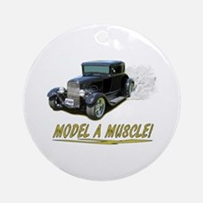Model A Muscle! Ornament (Round)