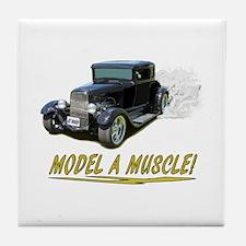 Model A Muscle! Tile Coaster