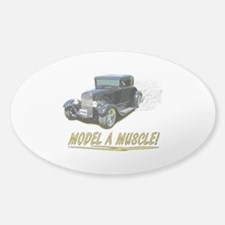 Model A Muscle! Decal