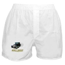 Model A Muscle! Boxer Shorts