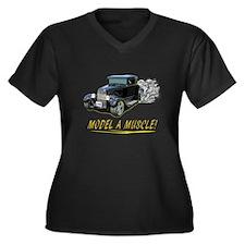 Model A Muscle! Plus Size T-Shirt
