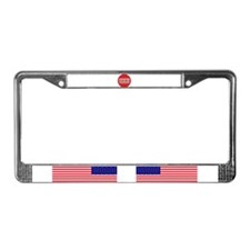 Marriage equality symbol License Plate Frame
