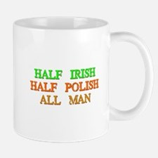 half Irish, half Polish Mugs