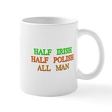 half Irish, half Polish Mugs