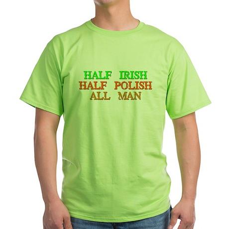 half Irish, half Polish T-Shirt