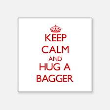 Keep Calm and Hug a Bagger Sticker