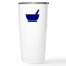 Blue Mortar and Pestle Travel Mug