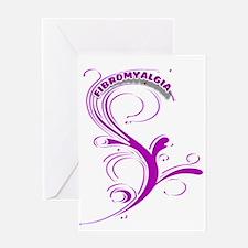 FIBROMYALGIA UNIQUE DESIGN2 Greeting Cards