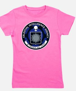 Celestial Intelligence Agency  Girl's Tee