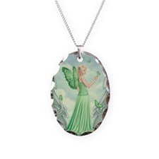 Peridot Birthstone Fairy Necklace