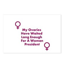 OvariesWantWomenPresident Postcards (Package of 8)