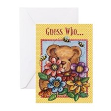 Happy Birthday Bear Card (10 Pk)