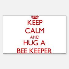 Keep Calm and Hug a Bee Keeper Decal