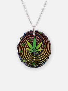 Weed Vortex Necklace
