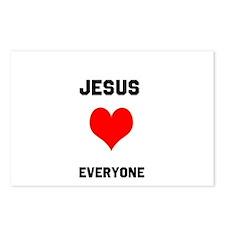 Jesus Loves Everyone Postcards (Package of 8)