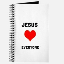 Jesus Loves Everyone Journal