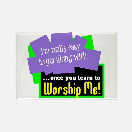 Worship Me Magnets