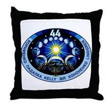 Expedition 44 Throw Pillow