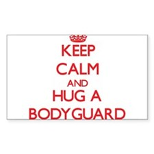 Keep Calm and Hug a Bodyguard Decal