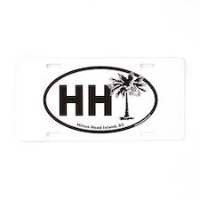 Funny Newport, euro Aluminum License Plate