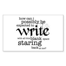 How Can I Write? Decal