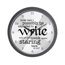 How Can I Write? Wall Clock